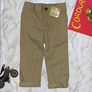 Crazy 8 boys khaki pants    NWT